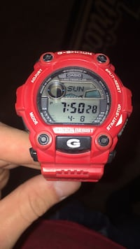 red Casio G-Shock digital watch Cumberland, 02864