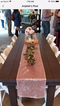 18 Table runner and table cloth Ocala, 34474