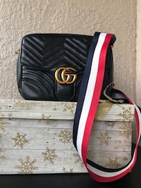 black and red leather bag Tampa, 33647
