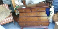 Ethan Allen bombe chest of drawers District Heights, 20747