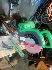 Hitachi 10 inch dual beval sliding compound miter saw