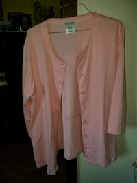 brown button-up cardigan Mobile, 36693