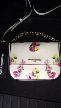 **BRAND NEW** Karl Lagerfeld purse. Beautiful inside and out with slight floral Edmonton, T5K 2T7