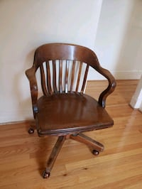 Antique Walnut Sikes Bankers/Desk Chair Brooklyn, 11216