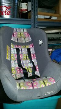 baby's gray and pink car seat carrier Virginia Beach, 23452