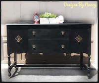 Lovely Solid Wood 1930's Jacobean Style Sideboard/Buffet!   Whitby, L1P 1L9