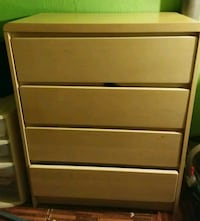 brown wooden 4-drawer dresser Johnstown, 43031
