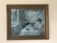 brown wooden framed painting of house Federal Way, 98023