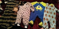 toddler's assorted-color footie pajamas Fort Walton Beach, 32548