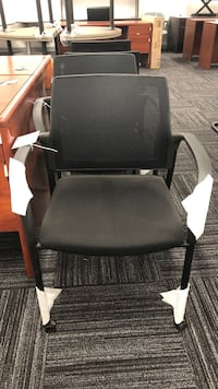 black and gray rolling armchair Columbia, 21046