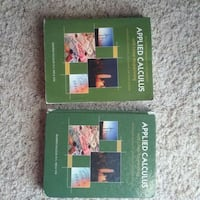 two Applied Calculus books