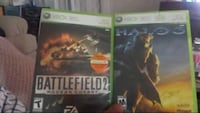 Xbox 360 battlefield AND Halo  Calgary, T3C 0S8