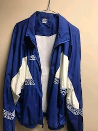 Vintage blue and white umbro wind breaker St. Catharines, L2S 3R7