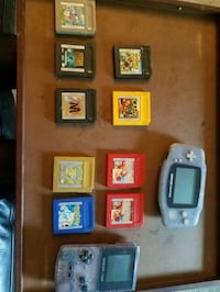 Gameboy Color, Gameboy Advance, & 8 Games Arnold, 21012