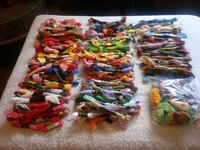 Over 250 bundles of embroidery thread Tucson, 85719
