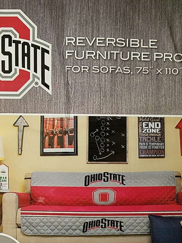 2 Ohio State Couch Covers