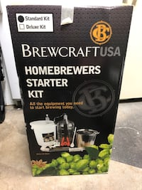 Brew craft starter kit - never used $50 OBO Leesburg, 20176