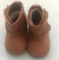 Baby boy 0 to 6 months pure leather boots brand new Danbury, 06810