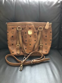 Authentic mcm tote two way bag