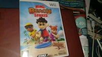 Big Beach Sports spill Nintendo Wii  Oslo kommune, 0986