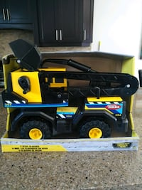 TONKA METAL LARGE BACKOE TRUCK. Saint Thomas, N5P 0A1