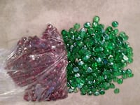green and brown bead lot Toronto, M1E 2S2