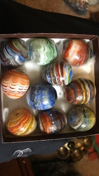 Really cool vintage glass eggs