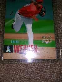 Jerred weaver rookie only 99 made  Wichita, 67203