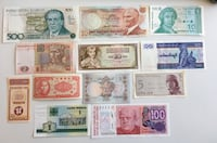 Collection of Genuine World Banknotes - Uncirculated  Calgary, T2R 0S8