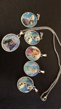 Frozen pendants. Necklaces available for an additional $8