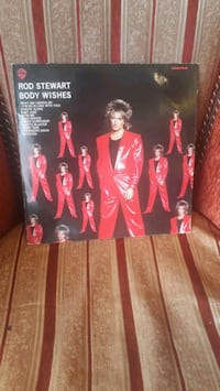 Rod Stewart, Body Wishes LP plak
