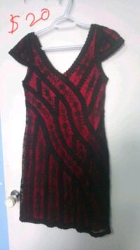 Black and red dress size M Toronto, M1T 3N4