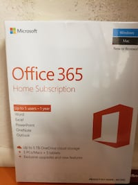 Office 365 Home subscription. null