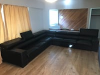 Genuine leather sectional Surrey, V3W 4C8
