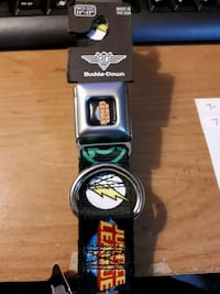 Justice League dog collar 11 to 17 in Edmonton, T5S 2B4