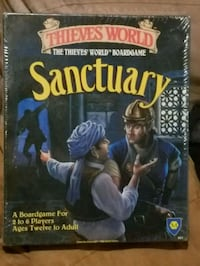 Sanctuary board game. Minot, 58703
