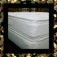 Twin mattress pillow top with box spring 59 km