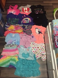 14 summer outfits, size 8 and 10-12 Regina, S4R 4Z1