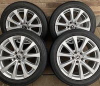 4 x 255/45/18 CONTINENTAL TIRES AND OEM RIMS $$$$650 Toronto