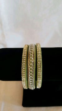 Brand New Lime Green Suede with Silver Rhinestones Mosheim, 37818