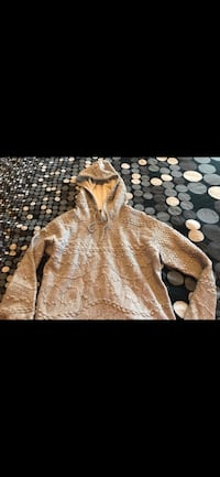gray knitted hooded jacket Edmonton, T6T 0B2