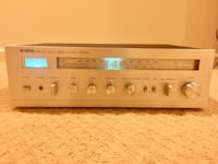 Vintage Yamaha CR-220 Stereo Receiver Silver Spring