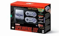 * MODDED 800 GAMES! * Nintendo SNES (Super NES) Mini Classic Edition With 800 Games Installed! Freetown