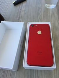 iphone 7 red 128 gb limited edition Manavgat, 07600
