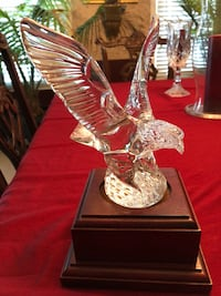 Exquisite Waterford Crystal Eagle O'Fallon, 63376