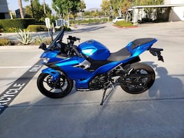 Kawasaki Ninja 400. Clean title and in excellent condition. Has about 2500 miles and needs nothing.
