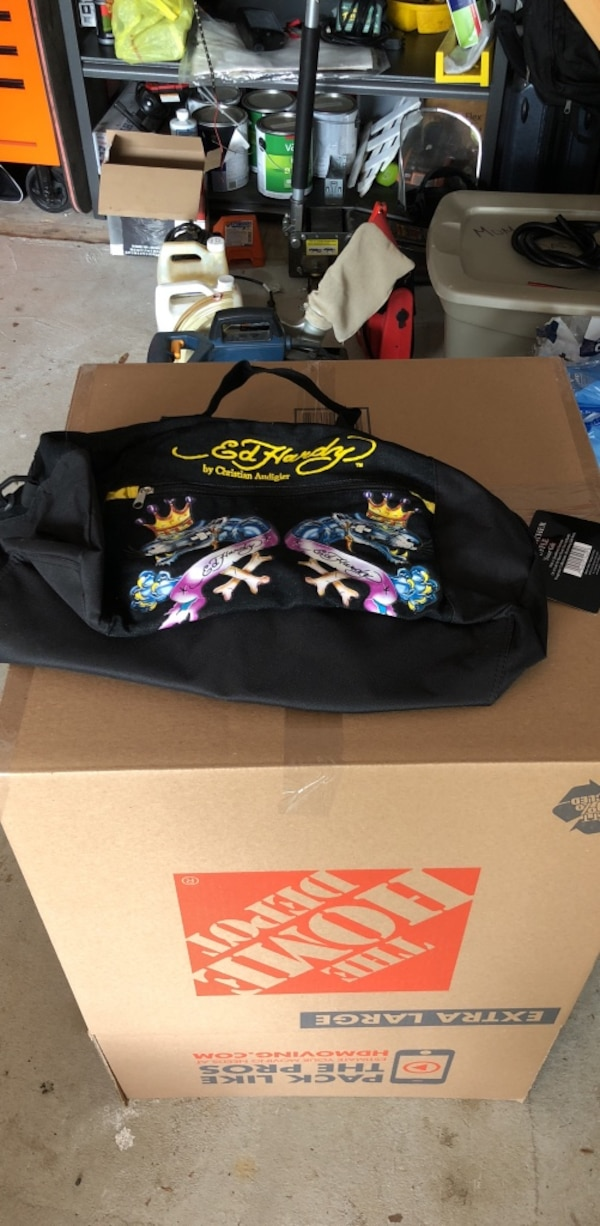 53858eac89 Used Ed Hardy bag brand new tag still on it for sale in Bethpage - letgo
