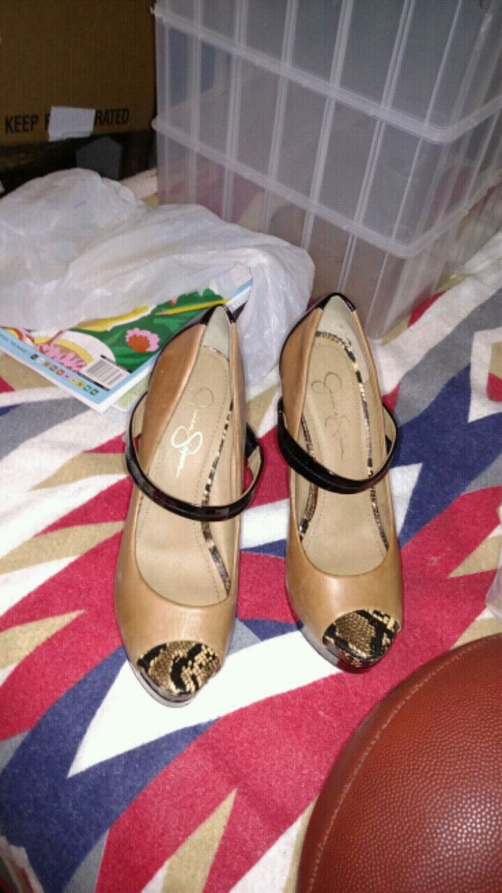 Photo Jessica Simpson pumps