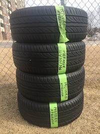 195/55R15 summer Atrezzo tires with 85% tread Toronto, M4A 2S3