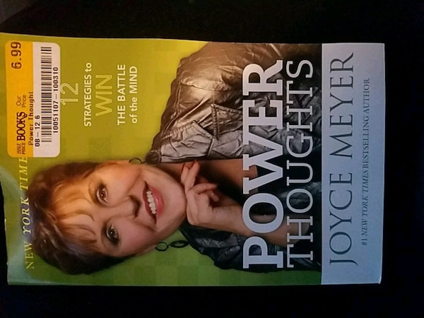 Power Thoughts by Joyce Meyer book